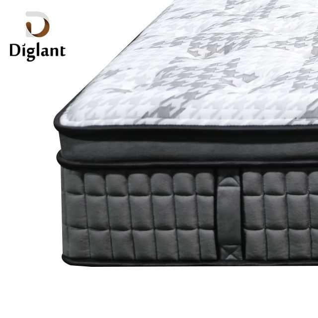 D33 Diglant high quality latex 12 inch 5 star bedroom queen king xxxn foam memory hotel pocket spring inflatable mattress
