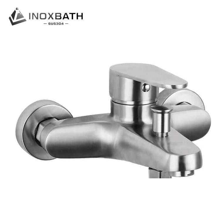 Stainless steel tap wall mounted tub faucet mixer bath shower faucets with hand head