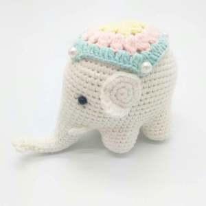 Elephant Amigurumi - Free Crochet Pattern • Craft Passion | 300x300