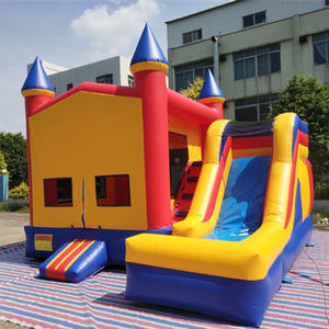 Anak-anak Melompat Castle Bounce House Inflatable Bouncer Combo
