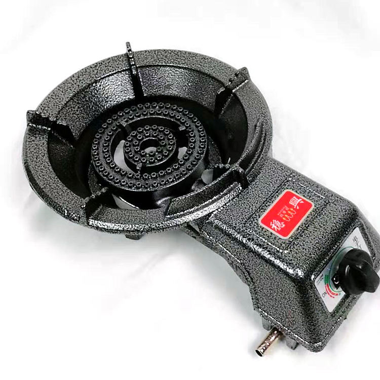 Wholesale price commercial cooktop 7KW heat load electronic ignition burner stove gas cast iron