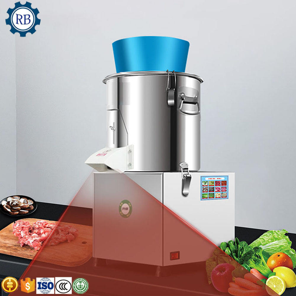 Professional food cutting processing equipment vegetable meat grinder mincer cabbage chopper for kitchen