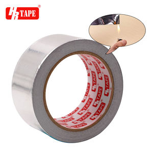 Factory High Quality Heat Resistant Fireproof Waterproof Aluminum Foil Insulation Tape For Duct Repair