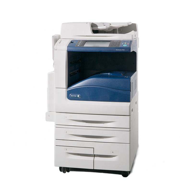 Used Laser CMYK Colored All-in-one Printer for Xerox Machine Copiers Refurbished 7835