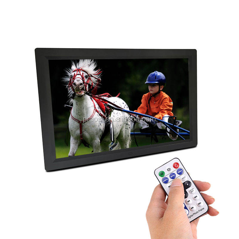 "2020 Hot large size Loop Video 17"" digital photo frame with sd us/17inch photos display with stand lcd led for Advertising"