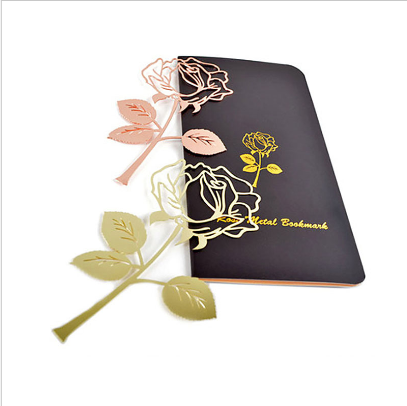 Rose design bookmarks for reader, Friends and Family