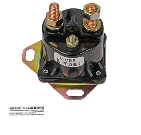 Universal 12 voltios//12V Solenoide del arrancador 4 terminal 150A 300A carga intermitente