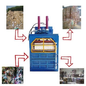 Hydraulic carton compress baler machine/cardboard baling press machine for sale
