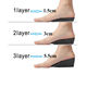 Shoe Insole Shoe Insoles Targo 3 Layers Ajustable Height Increase Shoe Insole