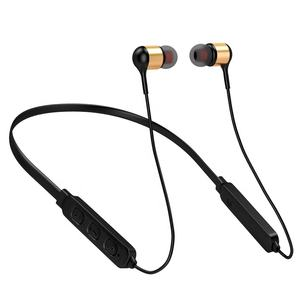 Bluetooth Stereo Bass Sports Neckband Handfree Handsfree Earphone With Volume Control For Iphone Samsung Nokia Xiaomi Gionee