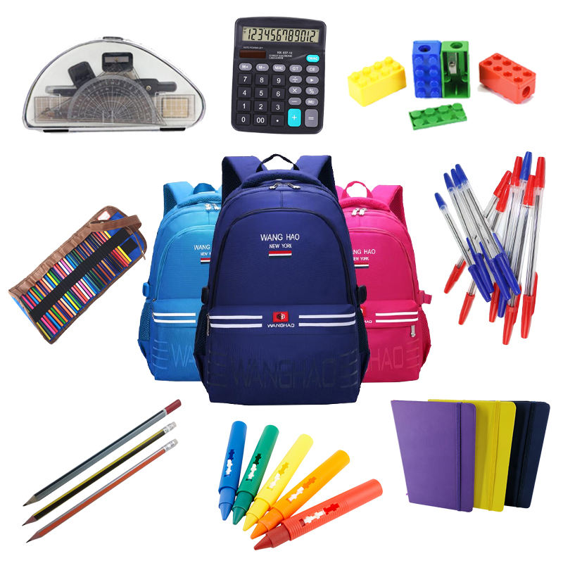 Pack Student Children Back to School Office Stationery Set