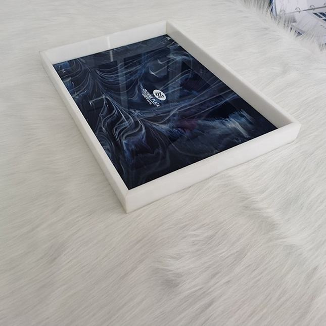 Hotel Acrylic Storage Serving Tray