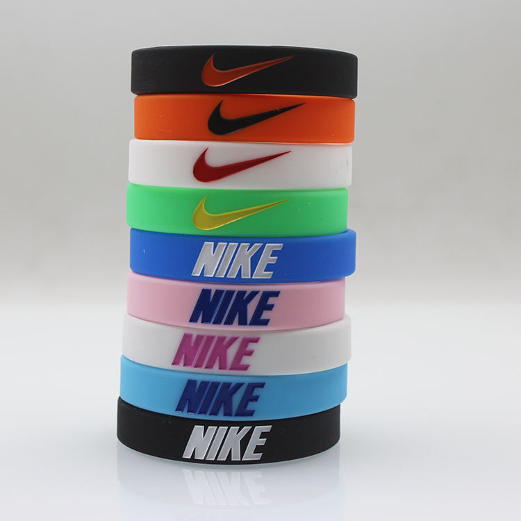 Play Strong Motivational Wristband Bracelets Classic 1/2 x 12 Adult Size Custom Silicone Bracelets