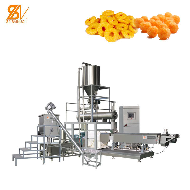 2020 hot sales saibainuo automatic Corn Cheese Puff Snacks Food Making machine