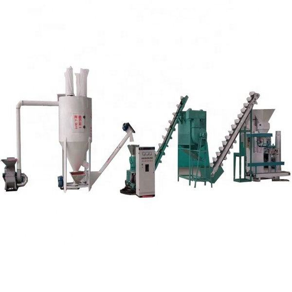 Factory Price 1000kg/h Chicken Food Poultry Feed Processing Machines