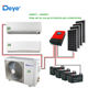 DEYE 100% solar air conditioner 12000btu DC48V inverter type Easy installation