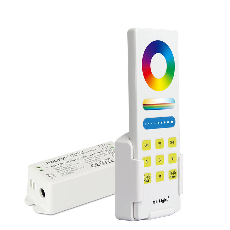 Mi Boxer 2.4GHz RF RGB+CCT Smart LED Control System Smart Wifi LED Dimmer Controller