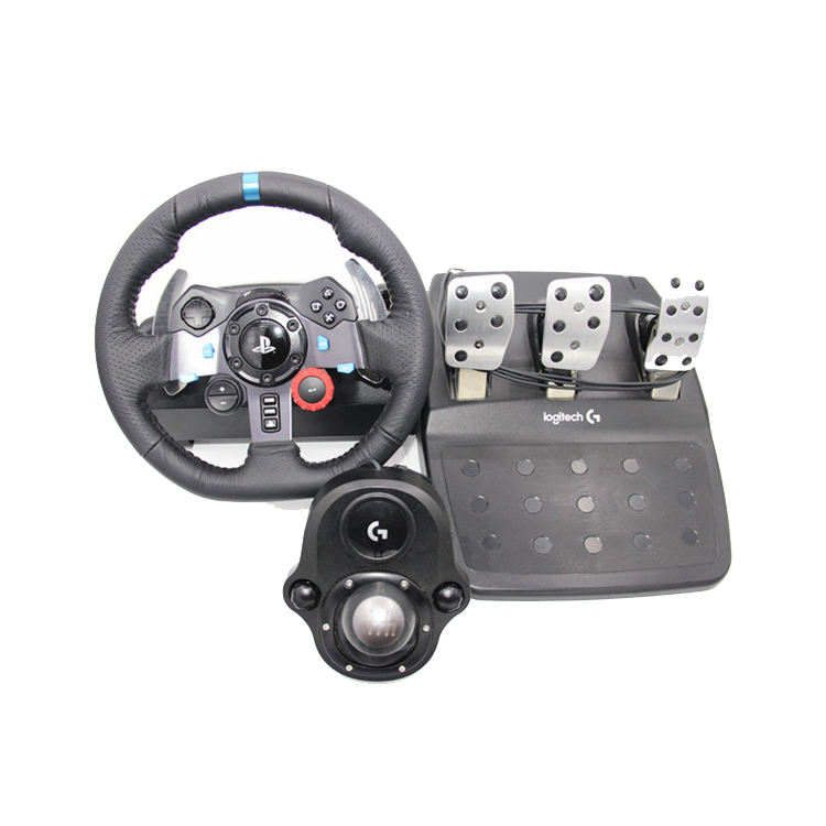 HOT SALES for-Logitech G29 Driving Force Race Wheel + Logitech G Driving Force Shifter Bundle