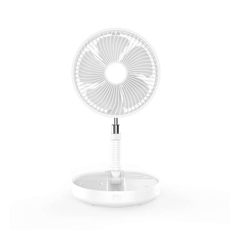 Watret A18A Stand Table Fan Mini Desk Battery Rechargeable Cooling Cooler Portable Foldable Usb Charging Pedestal Electric Fans