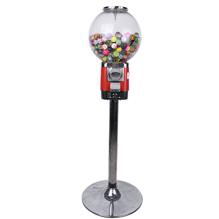 Wholesale Aluminium Alloy Small Candy Bouncy Ball Capsule Gashapon Vending Machine Head