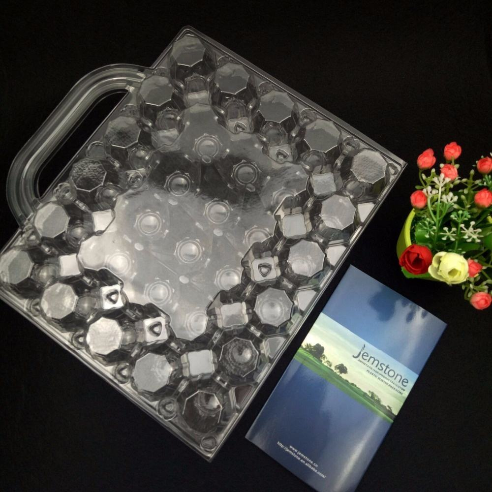 Manufacturer disposable plastic egg tray for sale