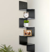 Durable and beautiful home floating wall mounted wall corner shelf