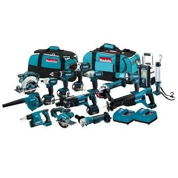 BUY 2 GET 1 FREE Makitas LXT1500 18-Volt LXT Lithium-Ion Cordless 15-Piece Combo Kit / power tool / cordless drill