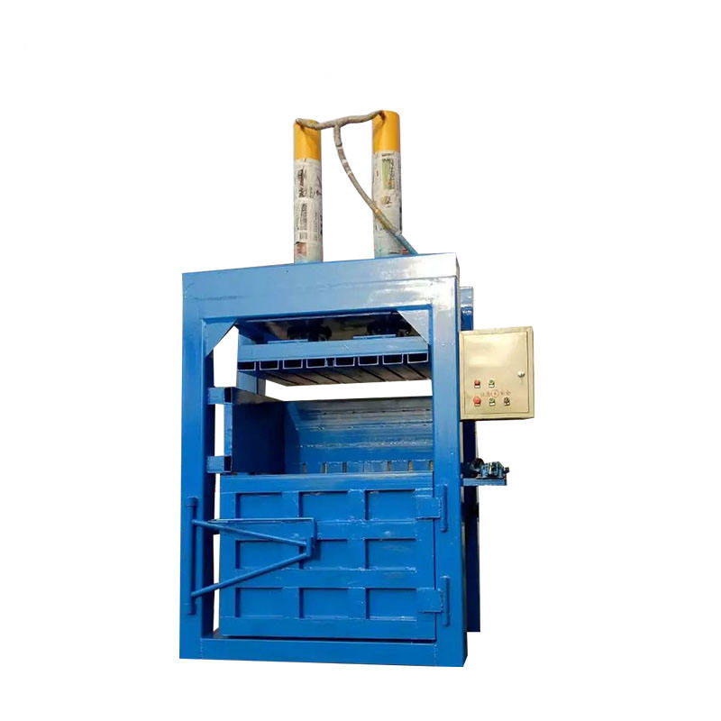 2019 Newly arrived Hydraulic Press Baling Machine for Cotton Waste Carton/baling machine for recycling Christmas wastes