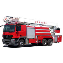 Sinomach 6*4 Drive Water Tower Fire Trucks Fire Fighting Engine Howo Water Tower Fire Truck
