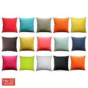 Factory price customized solid color wholesale blank Bulk Pillow Cases