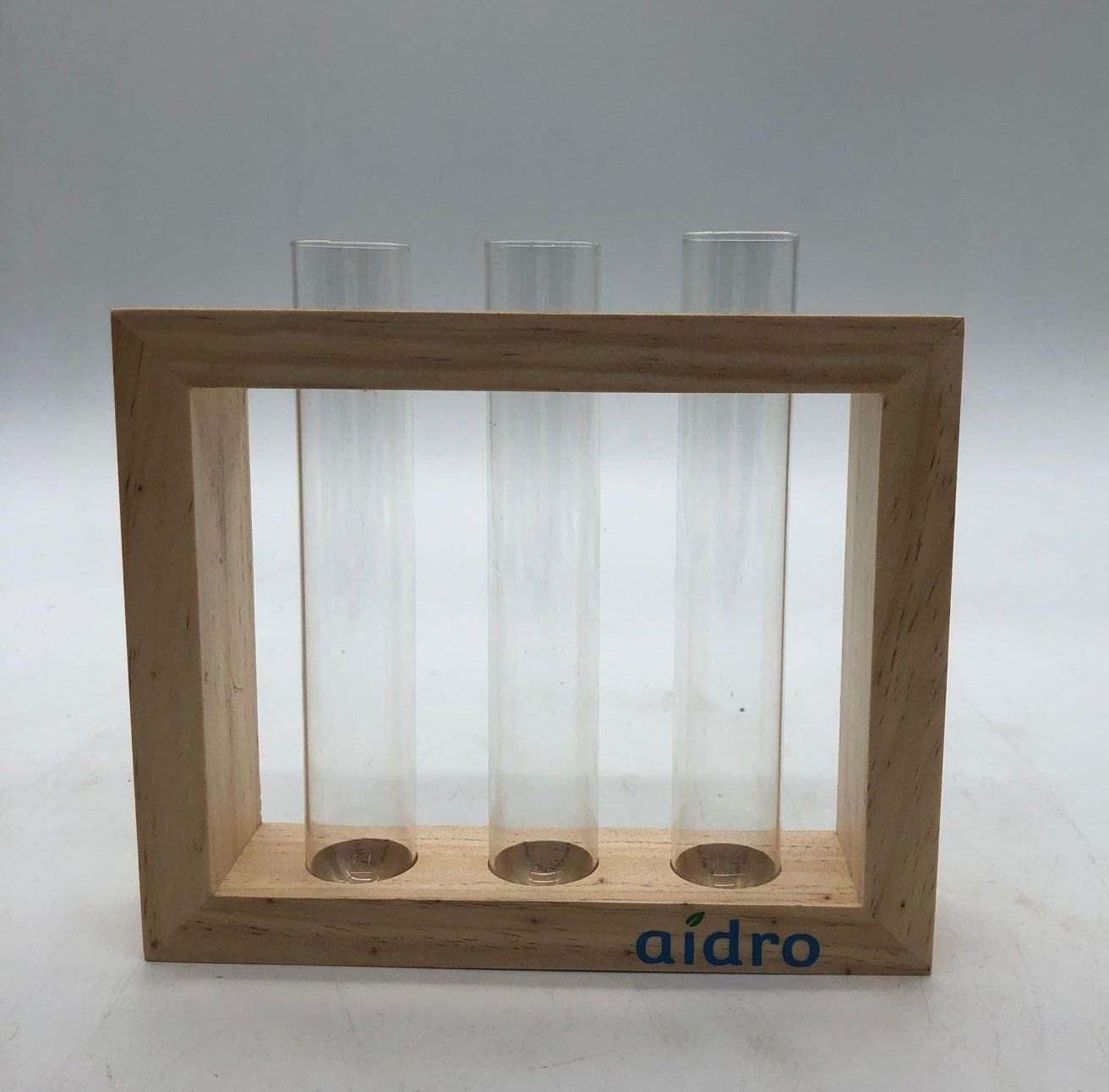 Wall Hanging Glass Planter Propagation Station Test Tube Vase Flower Pots