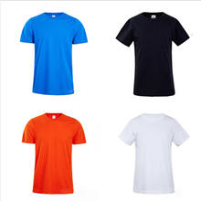 Hot selling t shirt 100% cotton round neck short sleeve blank man tee shirt