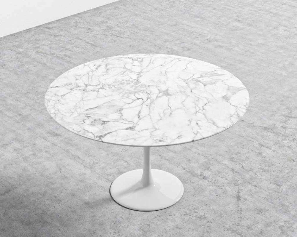 Table en marbre table basse ronde en pierre artificielle table tops fournisseur chinois