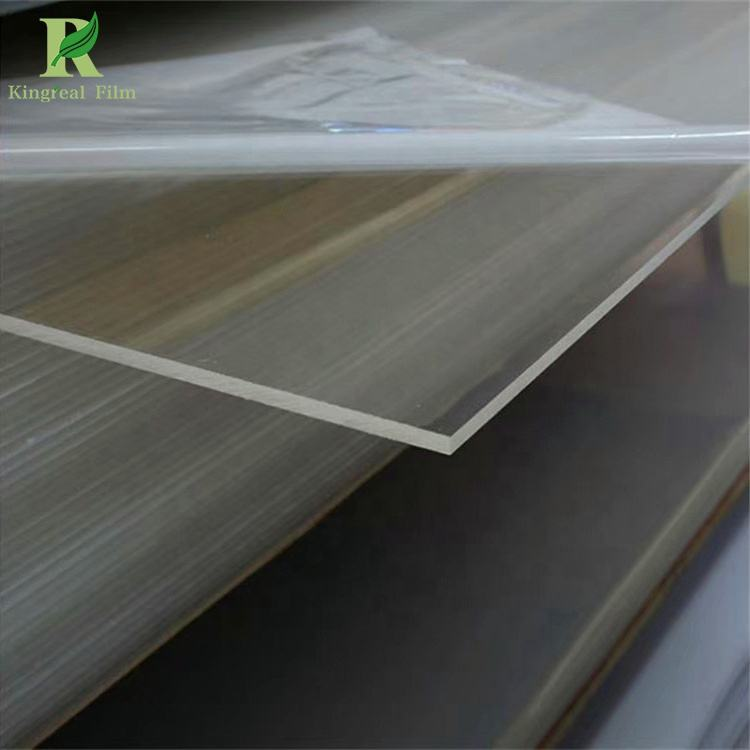 Customizable Quality Plastic Transparent PET Sheet Roll