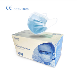 White list factory CE approved China supplier 3 layers disposable medical mask