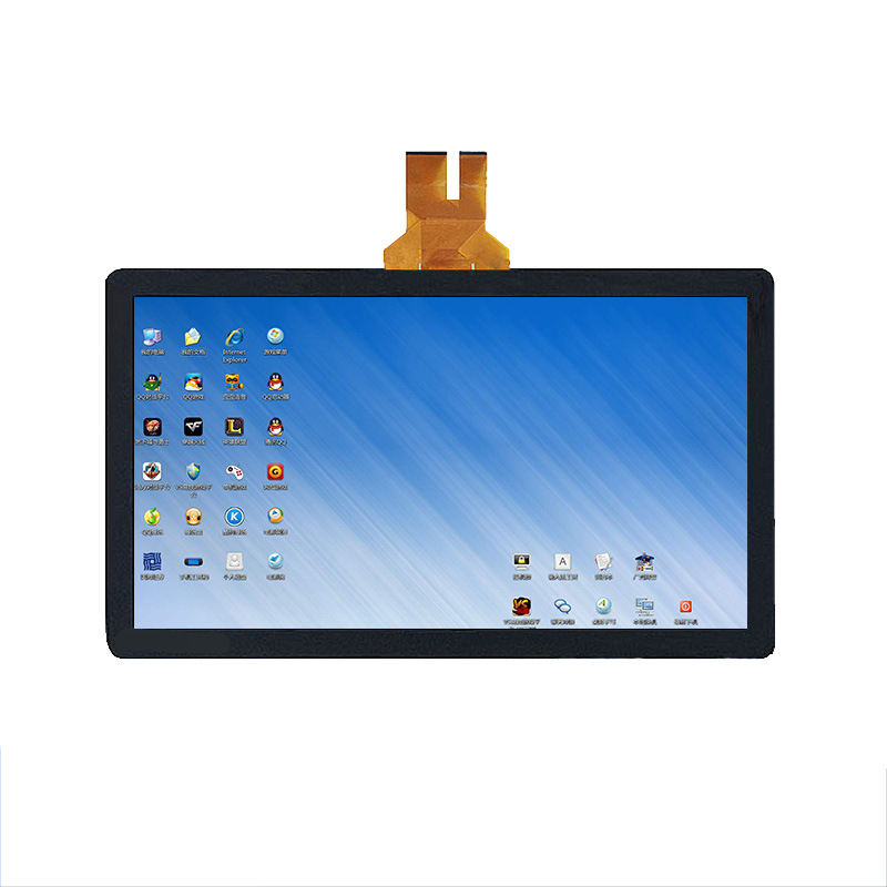 OEM G+G/GFF structure 10 touch points Industrial 15.1 inch 15.6 inch capacitive touch screen panel