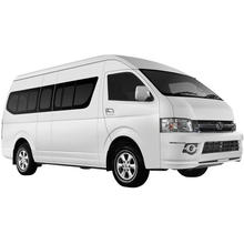 Hot Sale China Manufacture Model A5 Minibus Micro bus mini bus with 15 seats Toyota 4RB2 Gasoline Petro Engine 4x2  High Roof