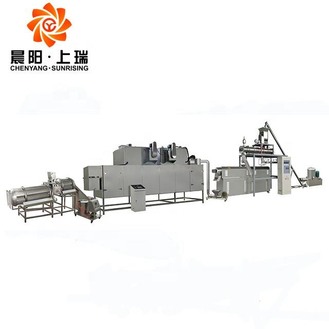 Jinan Chenyang extruded dry pet food production line