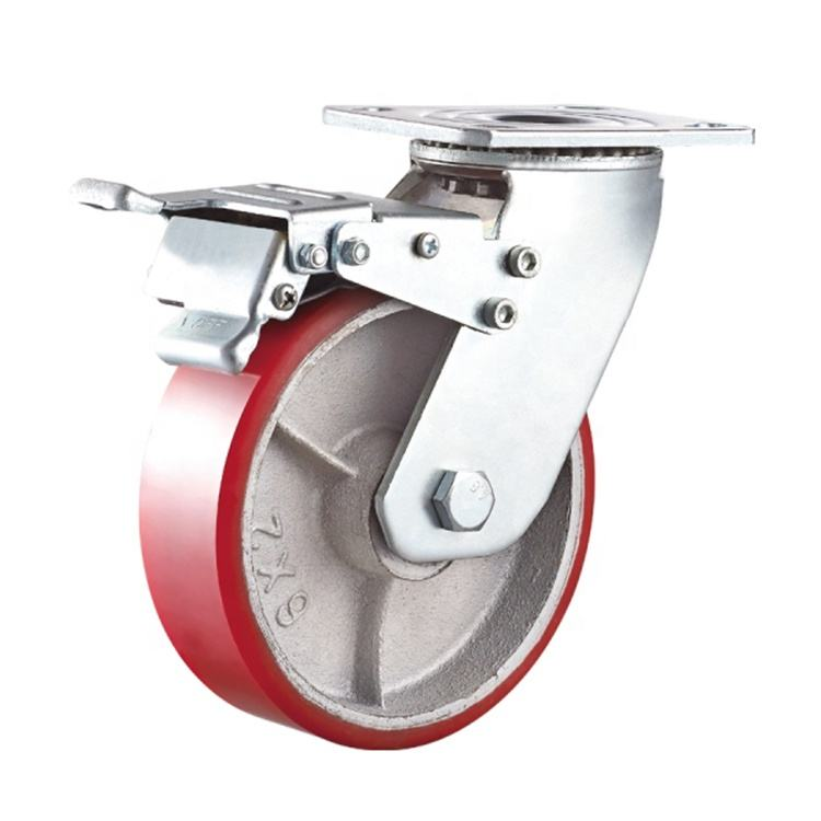 Newest Style Hot Sell Trolley Wheels And Castors/Trolly Castor Wheel 100Mm