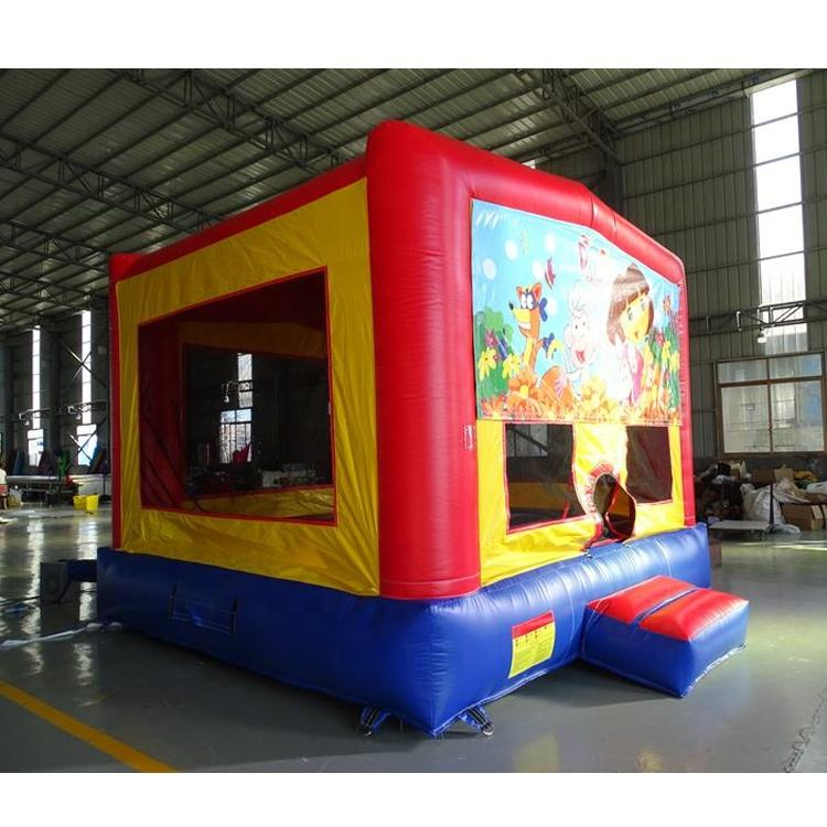 Inflatable Bouncer House Customized Module Kids Inflatable Bounce House Bouncer With Banner For Sale