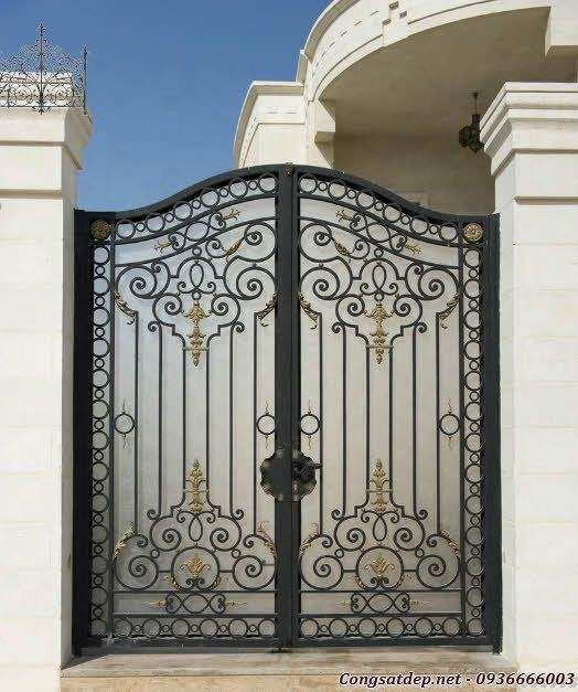 Best price for villa, housing metal art luxury gates