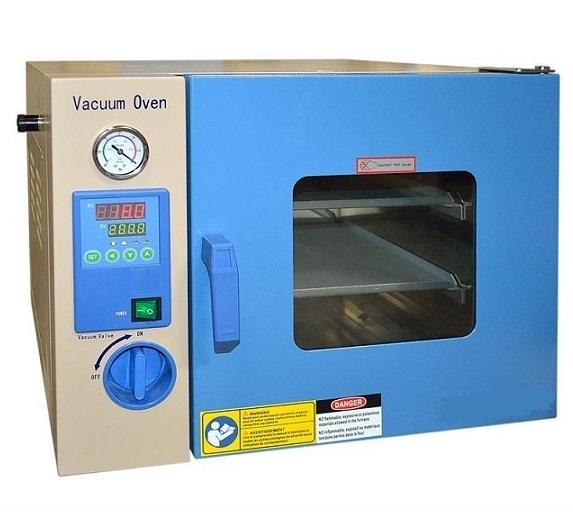 "Battery 50L 200C Vacuum Dry Oven (16.3 X 13.5 X 14.5"" ) With Digital Temperature Controller"