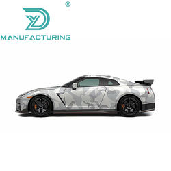 Glossy Camouflage Vinyl Urban Camo Printed Car Wrapping Cover Sticker Adhesive Motor Scooter Bike Wrap Film Roll