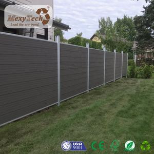 Supplying Recyclable WPC plastic garden fence