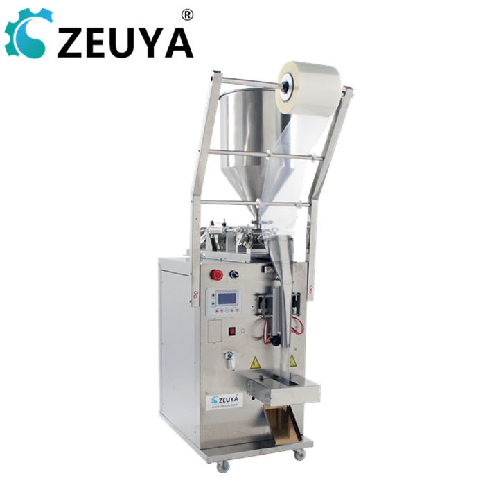 5-100ml semi automatic jam edible oil bag filling and packing machine for pouch package
