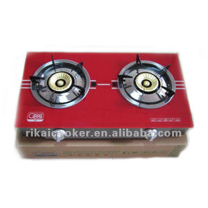 A popular product for home kitchen restaurants 2 normal plate big burner gas stove