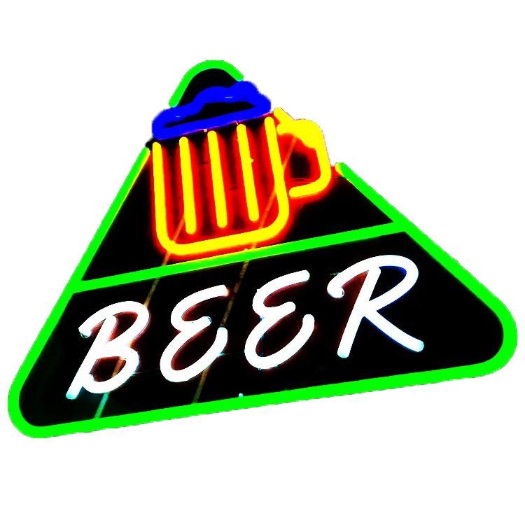 Excellent quality luxurious personalized beer customized neon sign