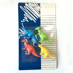 any custom brand design personalized cheap price dinosaur eraser