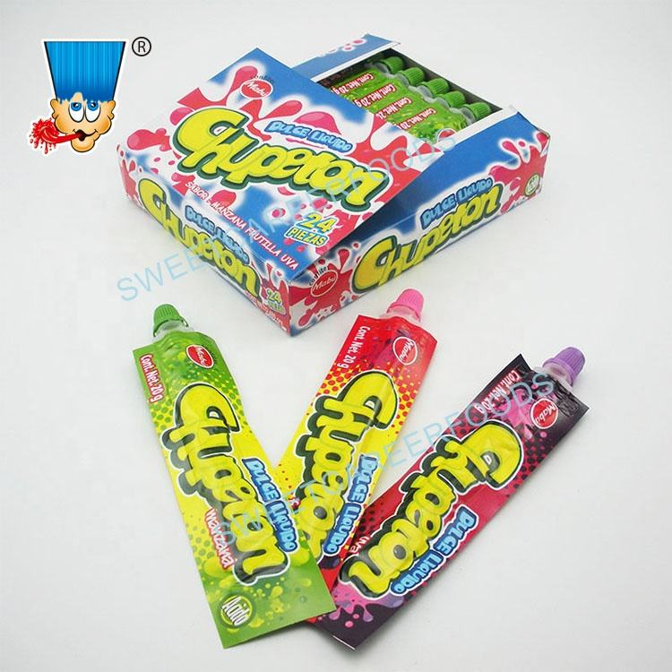 Toothpaste Squeeze Fruit Jam Liquid Jelly Gel Candy Sweets