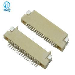 0.5mm 28p  FPC/FFC flat cable socket soft-drain connector double sided contact